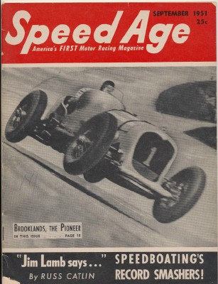 September 1951 Speed Age Motor Racing Magazine